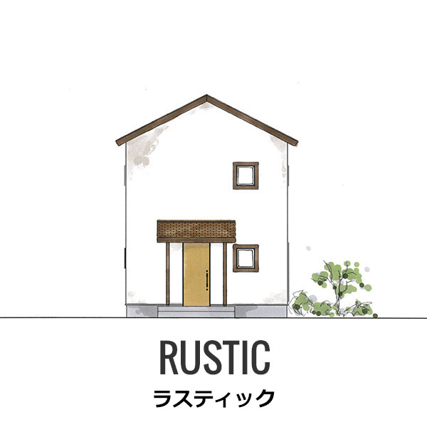RUSTIC-ラスティック-